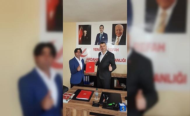 YRP Çıldır İlçe Başkanlığına Karakaya atandı