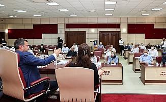 Yüreğir Belediye Meclisinden İsrail'e kınama