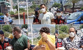 Alanya'da Ürdünlü ve Suriyeli kavgası kanlı bitti: 4 şüpheli adliyeye sevk edildi
