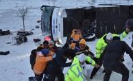 Konya'da feci kaza: 32 Yaralı
