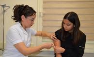 ALKÜ'de allerjide aşı tedavisi dönemi başladı