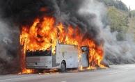Yolcu otobüsü alev aldı 52 ölü!