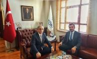 Başkan Toklu'nun Ankara temasları sürüyor