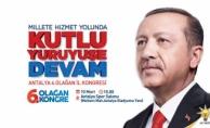 Alanya'da Erdoğan heyecanı