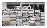 Alanya'da sigara kaçakçılarına dev darbe