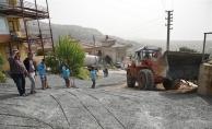 Alanya Belediyesi yol sorununu çözdü