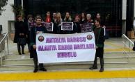 Avukatlar, 8 Mart Dünya Kadınlar Günü' için bir araya geldi