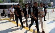 Alanya'da 19 suç örgütü şüphelisi adliyeye sevk edildi