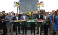 Türel'den Alanyaspor'a takım otobüsü