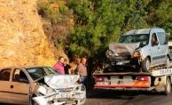 Yayla Yolunda feci kaza: biri ağır 5 yaralı