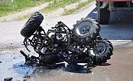 Alanya'da ATV kazası: 1 ölü 2 yaralı