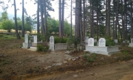 Büyükşehir'den Güzelbağ Mezarlığına bakım