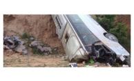 Akseki'de otobüs faciası: 50 yaralı