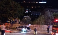 Alanya'da feci kaza: 2 ağır yaralı