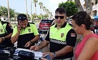 Işık ihlali yapan ve kemer takmayan sürücülere ceza yağdı