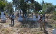 Alanya'da mezarlıklara 5 milyonluk yatırım