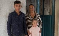 Büyükşehir'den açıkta kalan aileye yardım eli