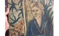 Tarihi tabloyu silah zoruyla çalan iki zanlı yakalandı