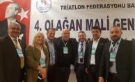 TRİATHLON FEDERASYONU MALİ GENEL KURULDA İBRA EDİLDİ