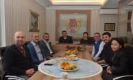 Başkan Yücel'den AGC'ye ziyaret