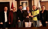Başkan Şahin'e Akdağ ziyareti