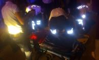 Alanya'da minibüsle motosiklet çarpıştı: 1 yaralı