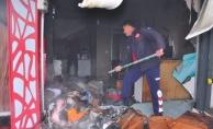 Alanya'da işyeri yangını korkuttu!