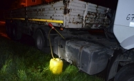 Alanya'da yakıt çaldığı iddia edilen şoför yakalandı