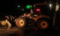 Alanya'nın kırsalında şiddetli yağış mesaisi