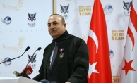 Çavuşoğlu'na Girne'de Fahri Doktora