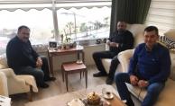 İl başkanı Aksoy'dan Türkdoğan'a hayırlı olsun ziyareti