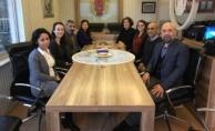 Saray'ın Sevgi ablası gazetecilerle buluştu