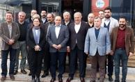 Alanya CHP'nin yeni yönetimi Sönmez ile buluştu