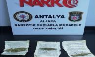 Alanya'da şok uyuşturucu baskını!