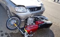 Alanya'da ehliyetsiz motosikletli dehşet saçtı!