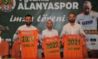 Alanyaspor'da 3 yıldız futbolcu sözleşmelerini uzattı