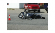 Alanya'da motosikletten düşen Iraklı turist yaralandı!