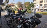 Alanya'da motosikletlilere yönelik denetim