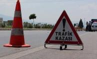Alanya'da otomobille motosiklet çarpıştı: 1 yaralı
