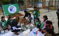 Alanyalı öğrenciler doğal gübre üretti