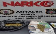 Alanya'da uyuşturucu tacirleri yakayı ele verdi