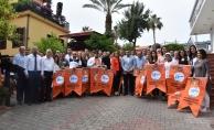 Alanya'daki işletmelere turuncu bayrak için yarışacak