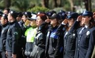 Alanya'da Türk Polis Teşkilatı'nın yıldönümü kutlandı