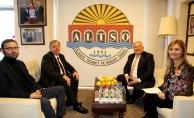 Başkonsolos Rogoza'dan  Başkan Şahin'e ziyaret