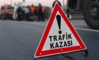 Hollandalı sürücü bisiklete çarptı: 1 yaralı