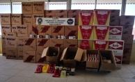 Alanya'da depoya kaçak tütün operasyonu!