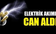 Alanya'da elektrik akımına kapılan kadın öldü
