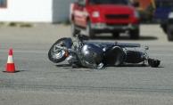 Alanya'da motosiklet devrildi: 1 yaralı