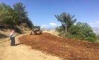 Alanya'nın kırsalında asfalt sevinci
