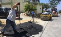 Alanya'nın kırsalındaki yollara yaz bakımı yapılıyor